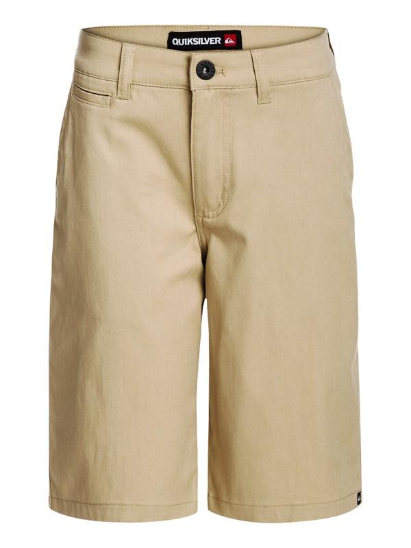 0 Boys 8-16 Union Shorts Beige AQBWS00067 Quiksilver
