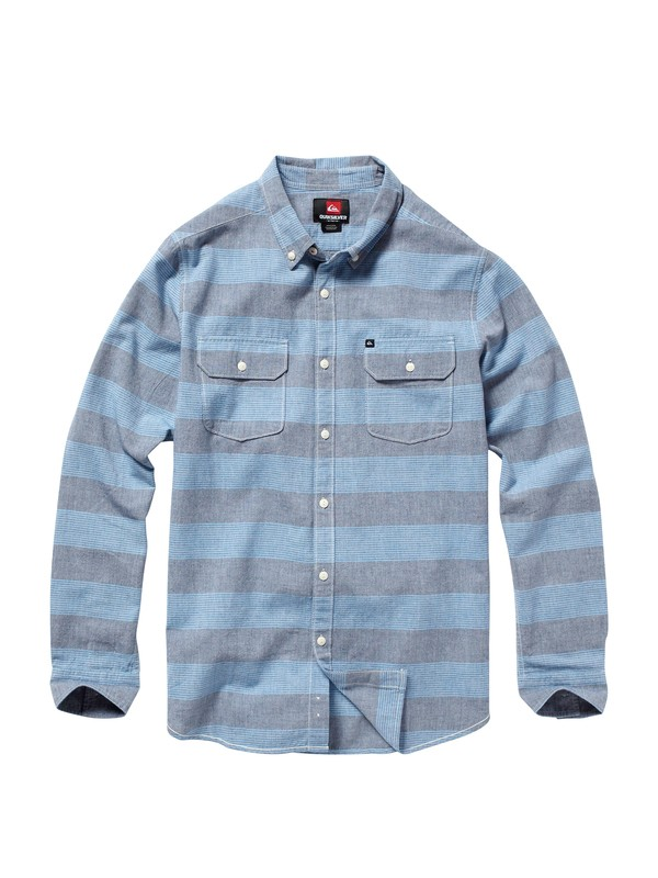 0 Boys 8-16 El Tube Release Long Sleeve Shirt  AQBWT00033 Quiksilver