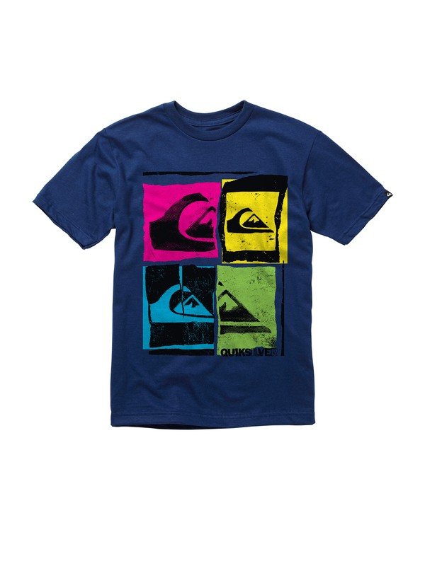 0 Boys 8-16 Iconoclass T-shirt  AQBZT00302 Quiksilver