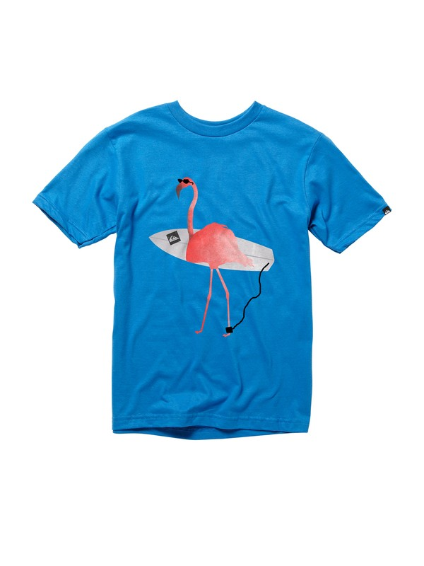 0 Boys 8-16 Flamingo T-shirt  AQBZT00312 Quiksilver
