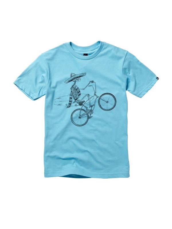 0 Boys 8-16 Wheelie T-shirt  AQBZT00316 Quiksilver