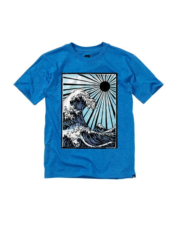 0 Boys 8-16 Heritage T-shirt  AQBZT00326 Quiksilver