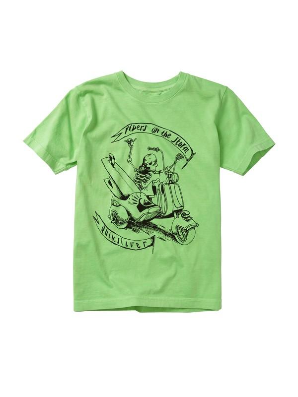 0 Boys 8-16 Sidecar T-shirt  AQBZT00340 Quiksilver