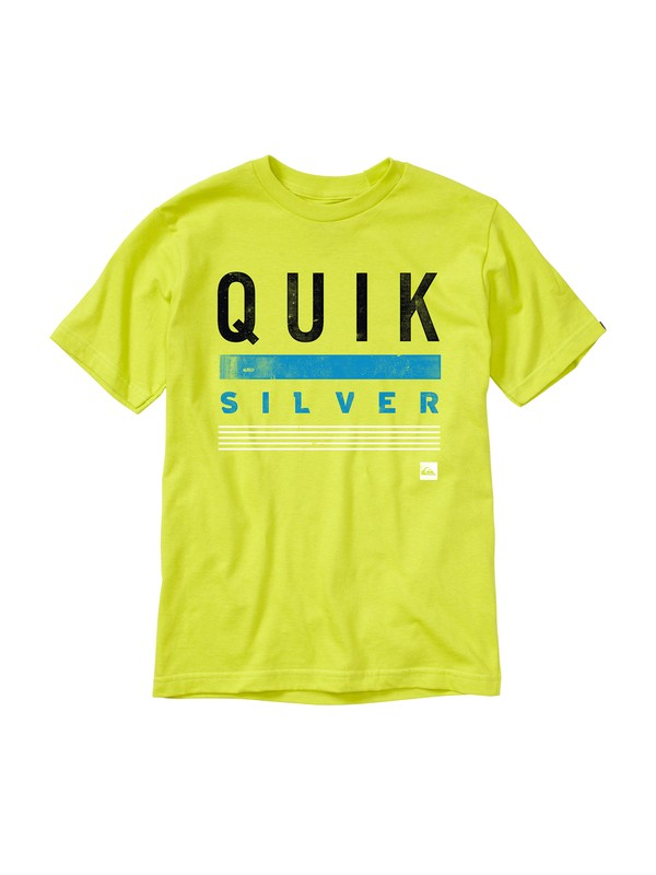 0 Boys 8-16 Rational T-Shirt Green AQBZT00442 Quiksilver