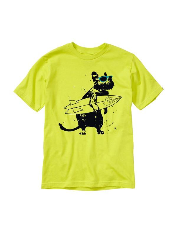 0 Boys 8-16 Chimpunk T-Shirt  AQBZT00445 Quiksilver