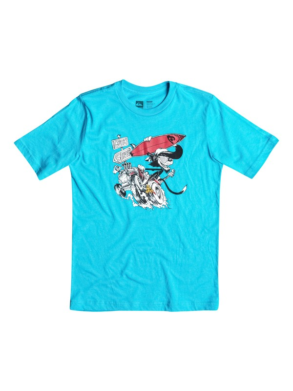 0 Boys 8-16 Surf Cat Tee  AQBZT03068 Quiksilver