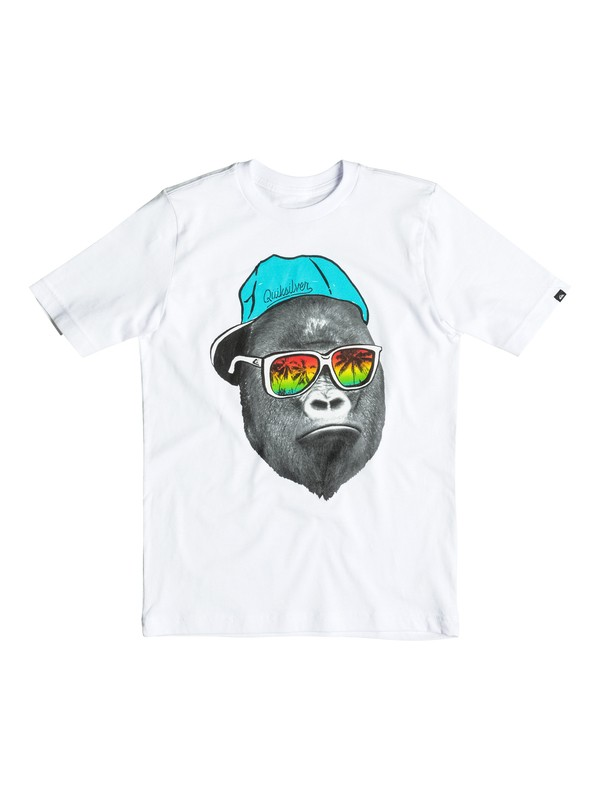 0 Boy's 8-16 Kong Business Tee  AQBZT03092 Quiksilver