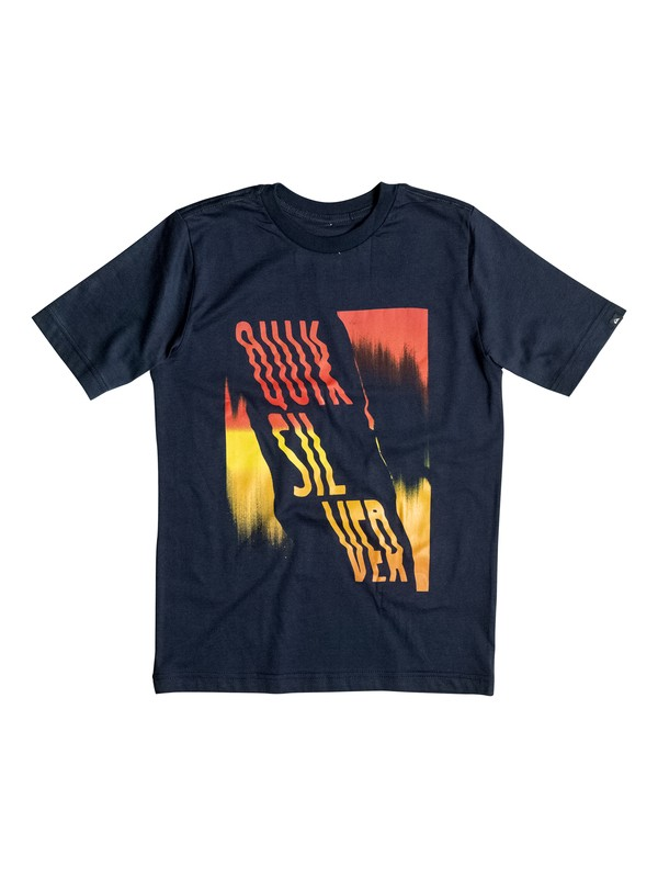 0 Boy's 8-16 The South Tee  AQBZT03095 Quiksilver