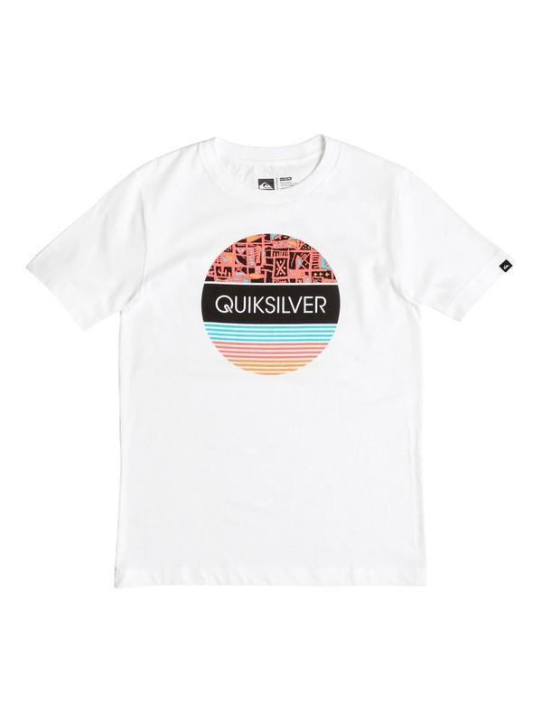 0 Boys 8-16 Color Wheel T-Shirt  AQBZT03121 Quiksilver
