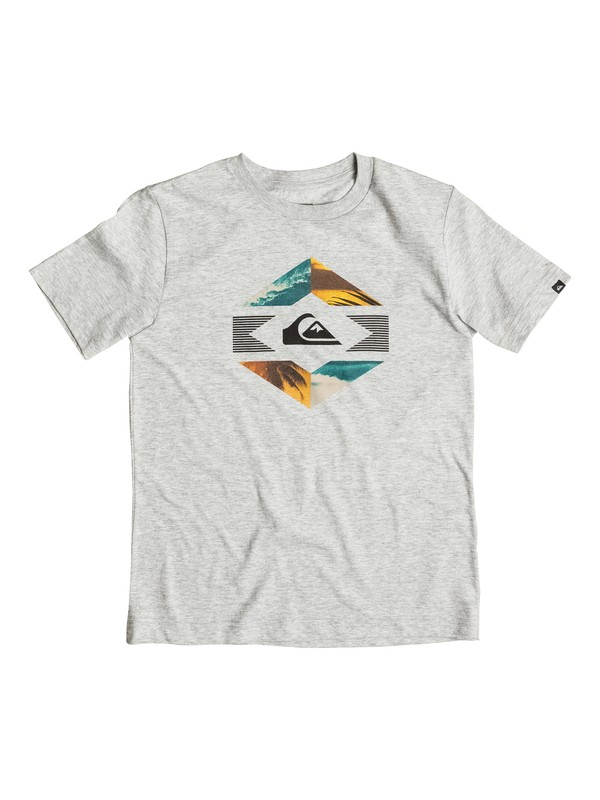 0 Boys 8-16 Split Photos T-Shirt  AQBZT03124 Quiksilver