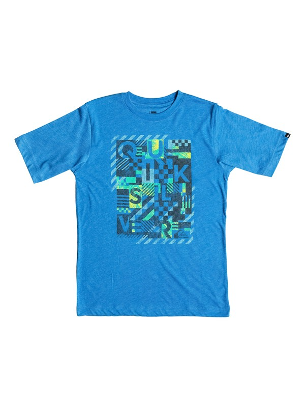 0 Boys 8-16 Plaid Republik T-Shirt  AQBZT03127 Quiksilver