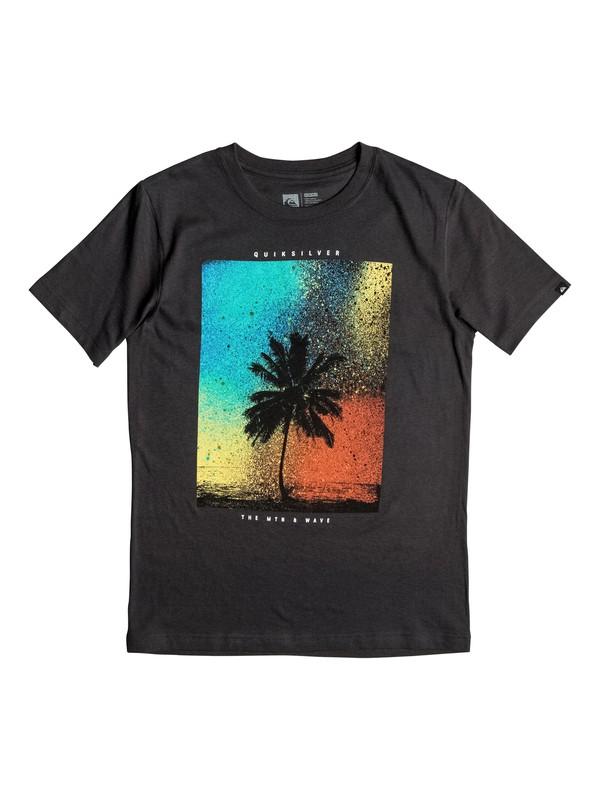 0 Boys 8-16 Spray Palm T-Shirt  AQBZT03133 Quiksilver
