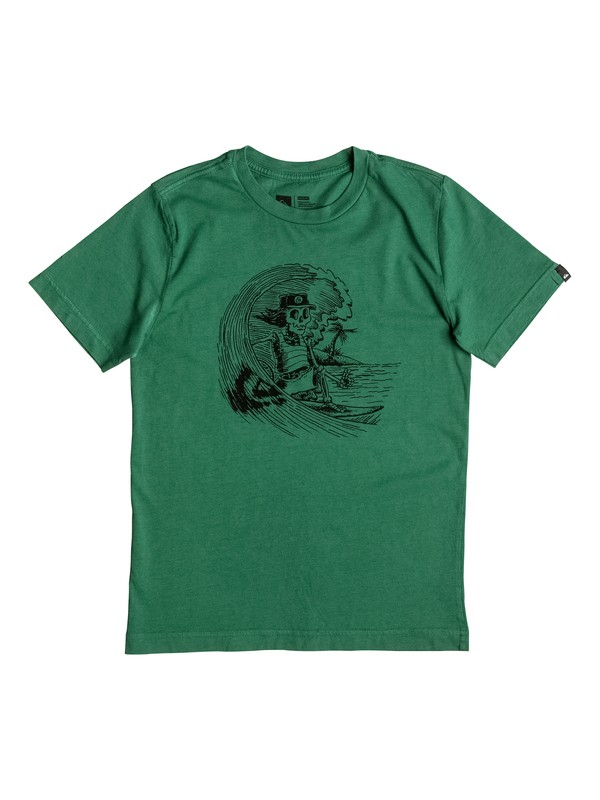 0 Boy's 8-16 Only The Surfer Tee  AQBZT03192 Quiksilver
