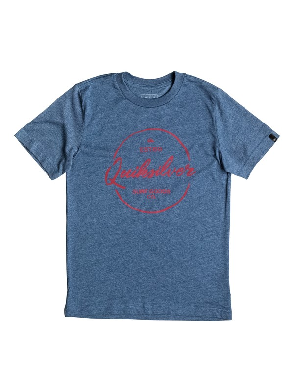 0 Boy's 8-16 Silvered Tee  AQBZT03193 Quiksilver