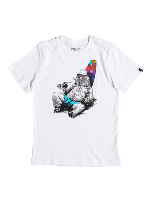 0 Boy's 8-16 Local Mostly Tee  AQBZT03196 Quiksilver