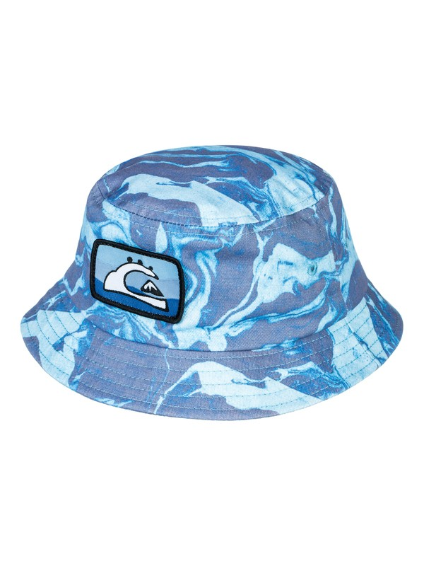 0 Fun Wizard - Bucket Hat Blue AQIHA03074 Quiksilver