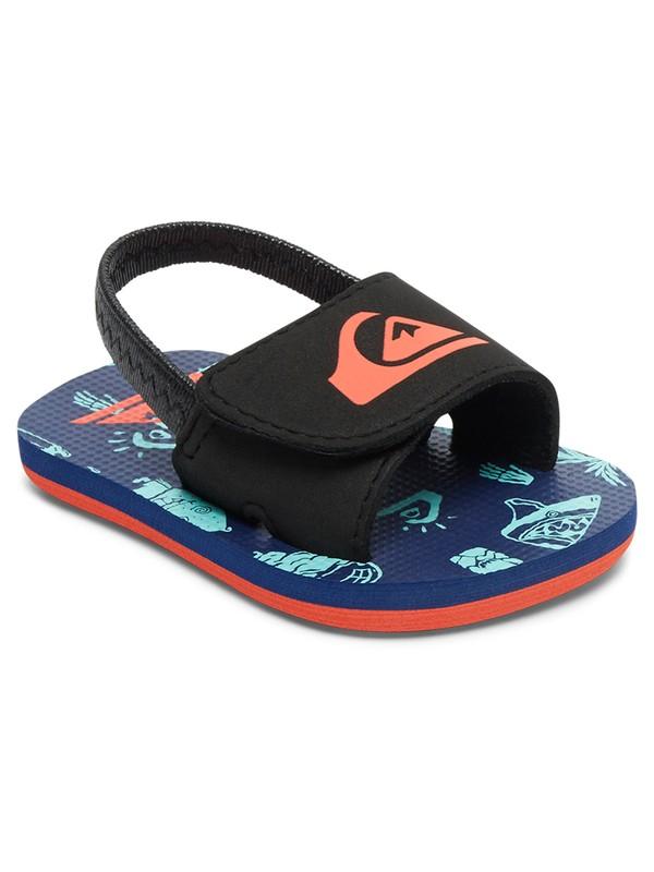 0 Baby Molokai Layback Slider Sandals Multicolor AQIL100003 Quiksilver
