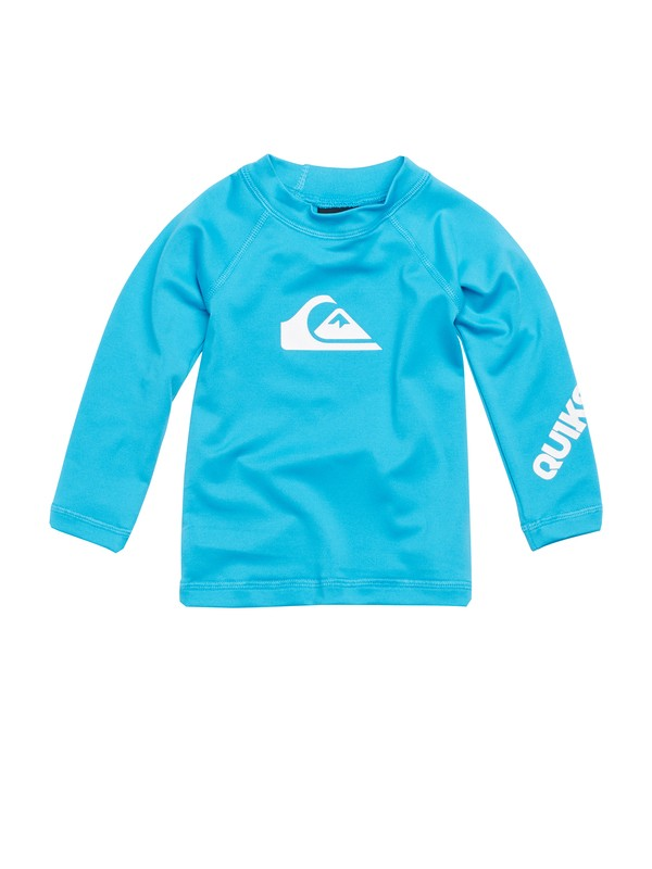 0 Baby All Time LS Rashguard  AQIWR00003 Quiksilver