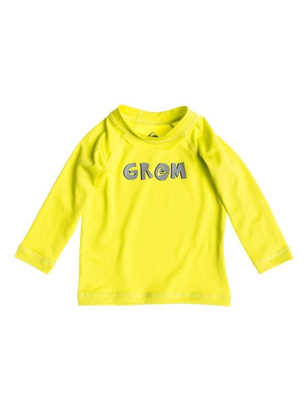 0 Baby Grom Long Sleeve Rashguard  AQIWR03005 Quiksilver