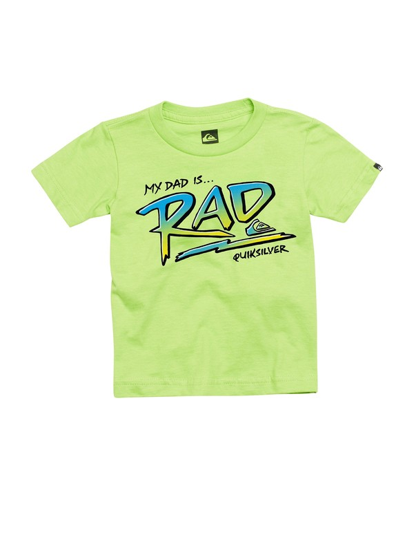 0 Baby Dad Is Rad T-Shirt  AQIZT00082 Quiksilver