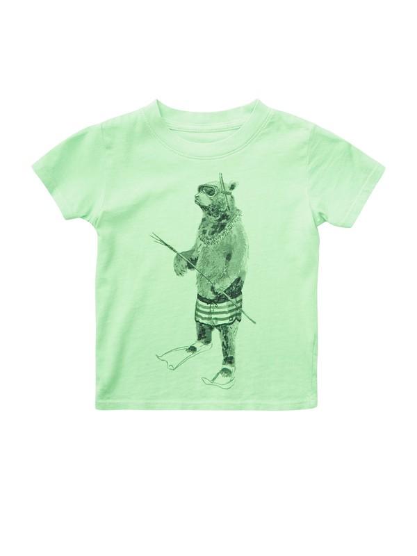 0 Baby Island Bear T-shirt  AQIZT00092 Quiksilver