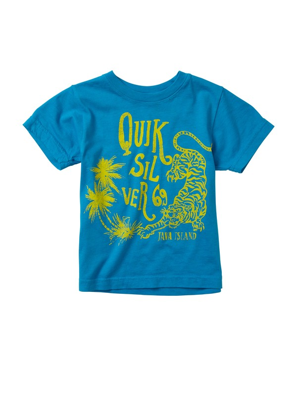0 Baby Java Cat T-Shirt  AQIZT00093 Quiksilver