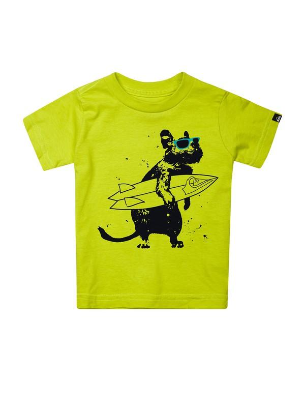 0 Baby Chimpunk T-Shirt  AQIZT00105 Quiksilver