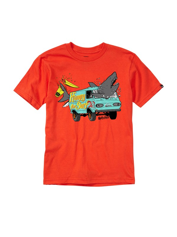 0 Baby Crash Course T-Shirt  AQIZT00112 Quiksilver