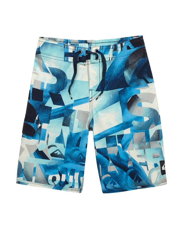 0 Boys 2-7 Night Waka Boardshorts  AQKBS00083 Quiksilver