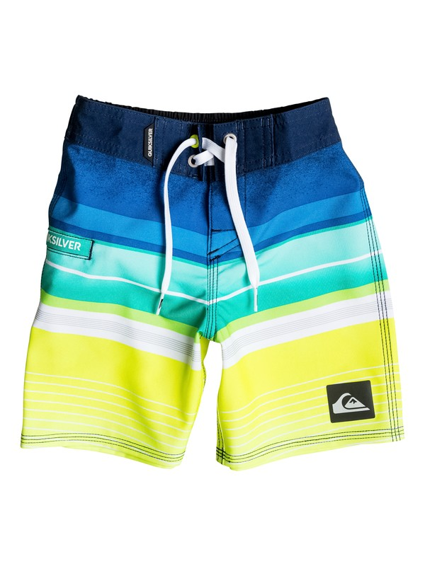 "0 Boys 2-4 Everyday Stripe 19"" Boardshorts  AQKBS03025 Quiksilver"