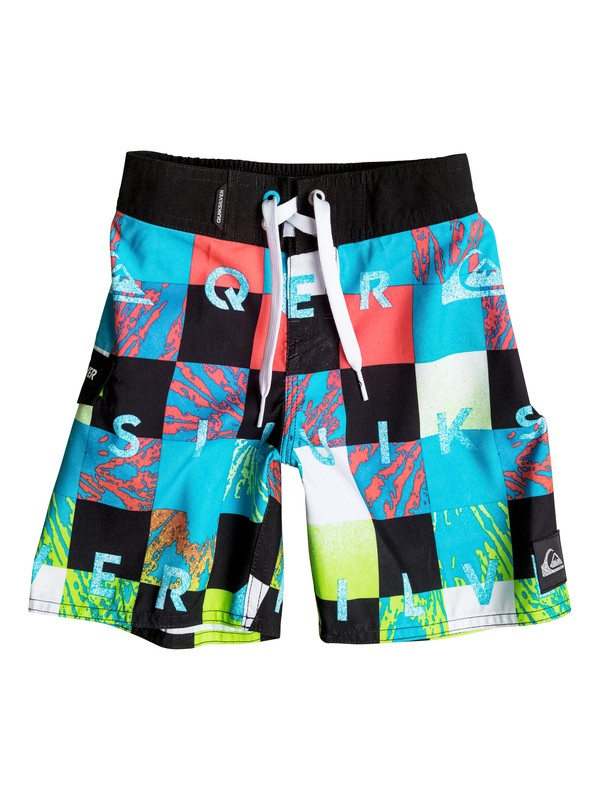 0 Boys 4-7 Check Remix Boardshorts  AQKBS03034 Quiksilver