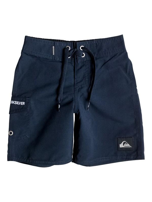 "0 Boys 2-4 Everyday 19"" Boardshorts Blue AQKBS03037 Quiksilver"