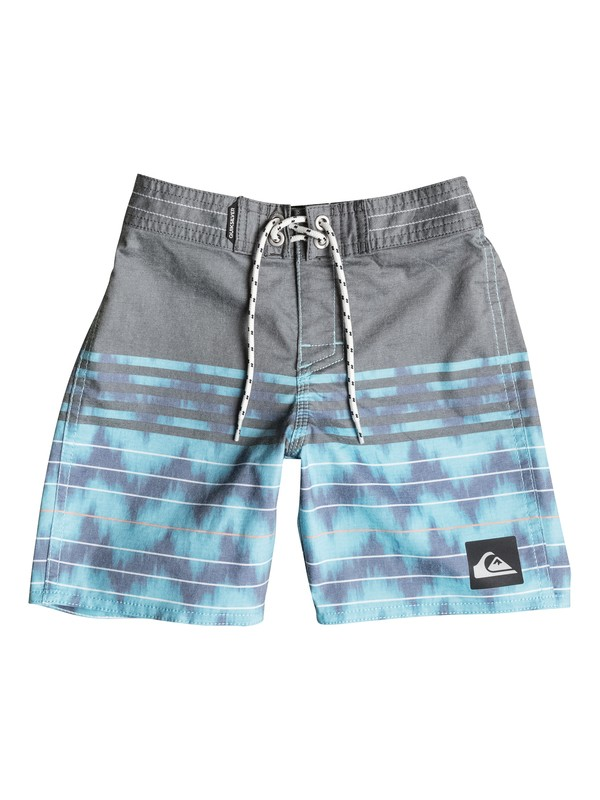 "0 Boys 2-4 Swell Vision 19"" Boardshorts Blue AQKBS03045 Quiksilver"