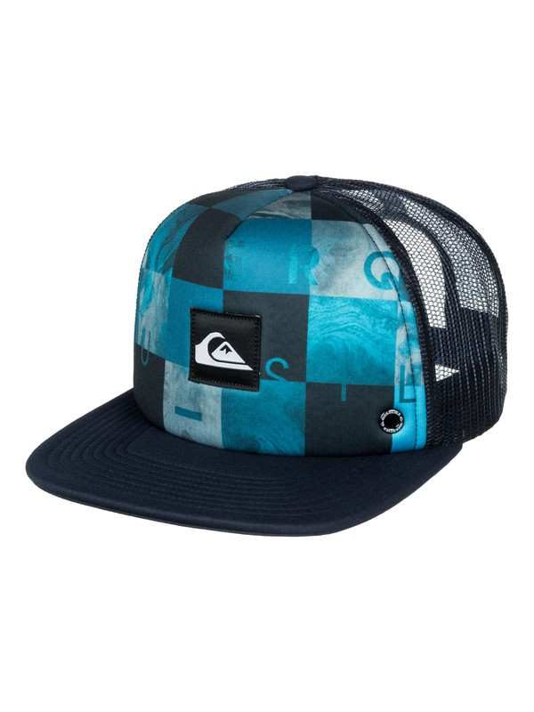 0 Boys 2-7 Boardies Foam Front Trucker Hat  AQKHA03066 Quiksilver