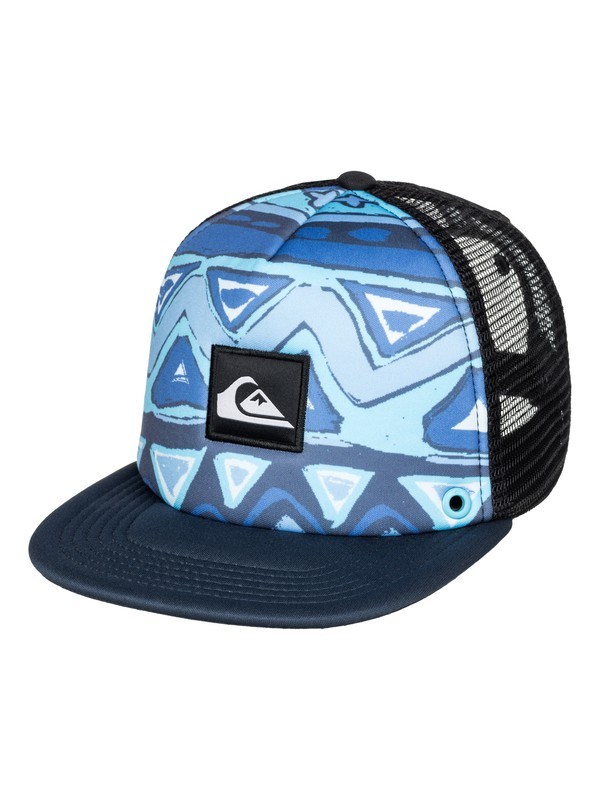0 Boys 2-7 Boardies Trucker Hat  AQKHA03079 Quiksilver