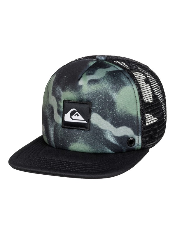 0 Boys 2-7 Boardies Trucker Hat  AQKHA03101 Quiksilver
