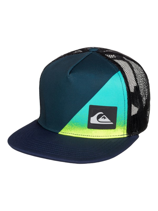0 New Wave Comp - Trucker Cap  AQKHA03107 Quiksilver