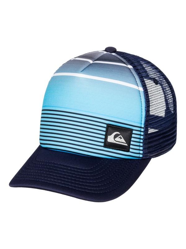 0 Boy's 2-7 Striped Out Trucker Hat  AQKHA03135 Quiksilver