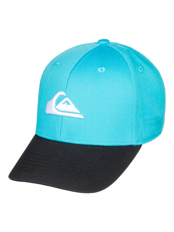 0 Boy's 2-7 Decades Snapback Hat Blue AQKHA03151 Quiksilver
