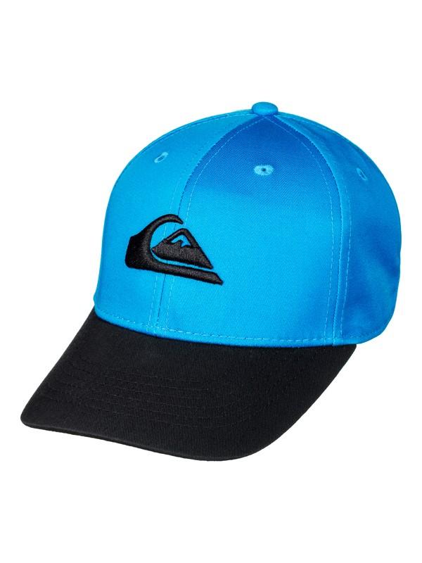 0 Boy's 2-7 Decades Snapback Hat Blue AQKHA03151 Quiksilver