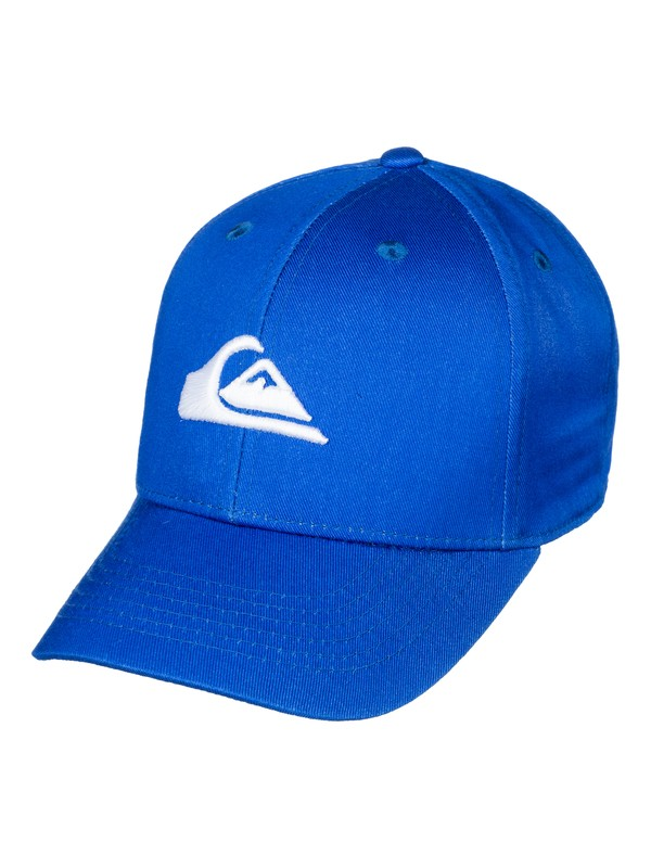 0 Decades  - Snapback Cap Blau AQKHA03151 Quiksilver