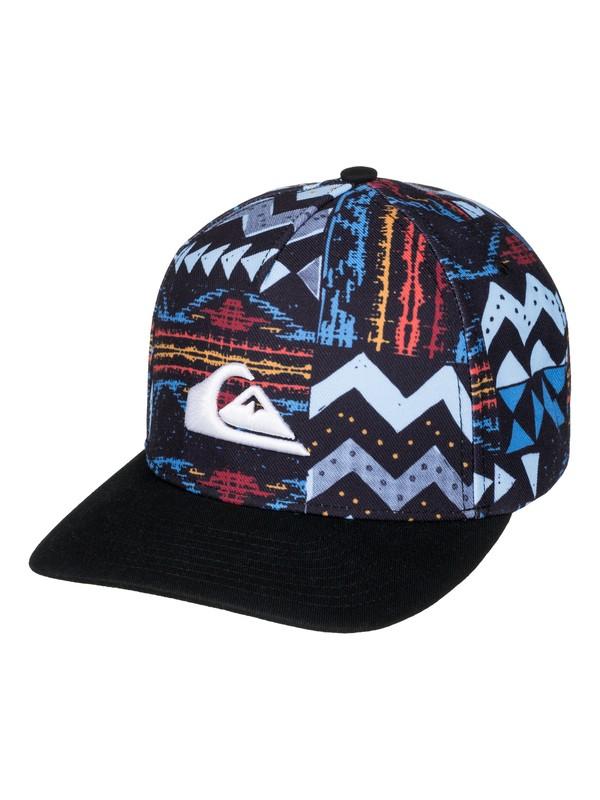 0 Boy's 2-7 Fixtail Snapback Hat  AQKHA03154 Quiksilver