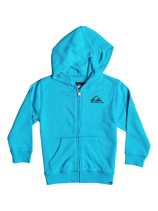 0 Boys 4-7 Sea Washed Zip-Up Hoodie Blue AQKJK03000 Quiksilver