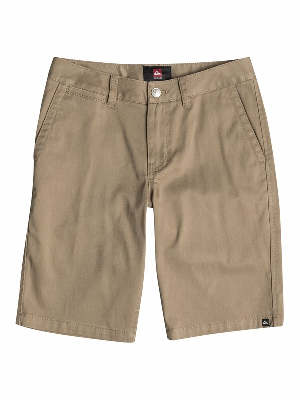 0 Boys 4-7 Everyday Union Stretch Shorts Beige AQKWS03031 Quiksilver