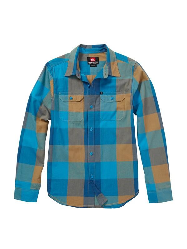 0 Boys 2-7 Grande Tatunka Long Sleeve Shirt  AQKWT00033 Quiksilver