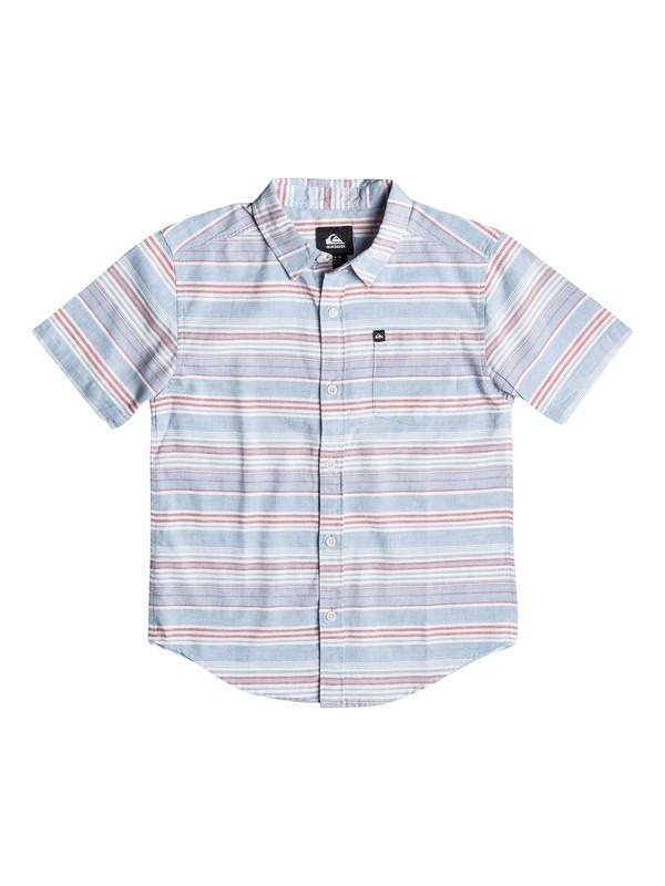 0 Boys 2-4 Rifter Short Sleeve Shirt  AQKWT03001 Quiksilver