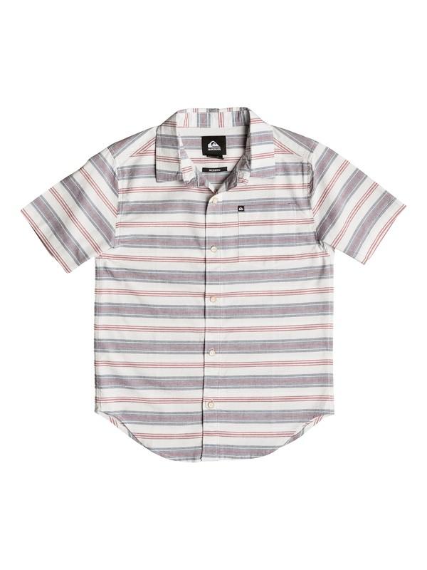 0 Boy's 4-7 Aventail Short Sleeve Shirt  AQKWT03006 Quiksilver
