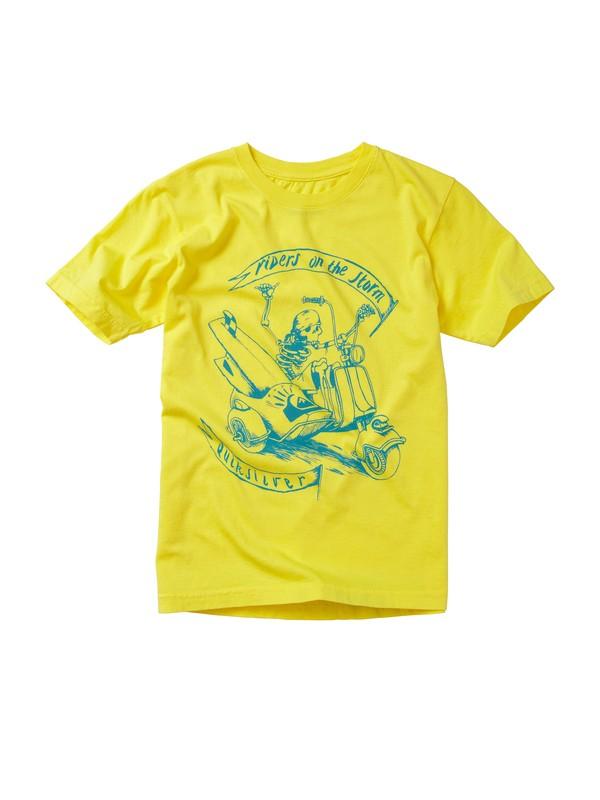 0 Boys 2-7 Sidecar T-shirt  AQKZT00211 Quiksilver