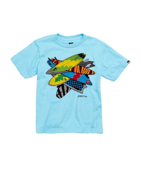 0 Boys 2-7 Dogpile T-Shirt  AQKZT00222 Quiksilver
