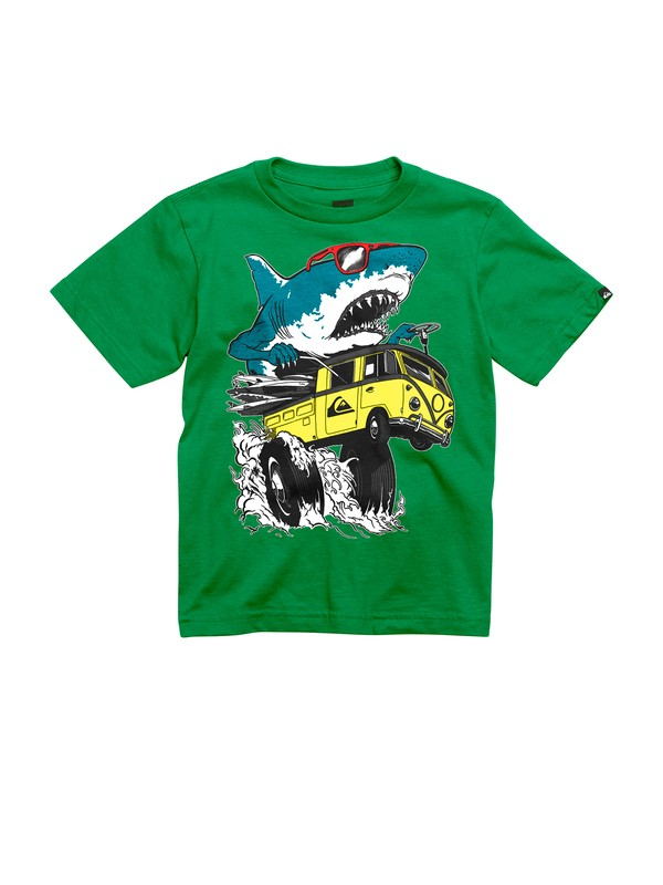 0 Boys 2-7 Shark Attack T-Shirt  AQKZT00230 Quiksilver